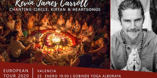 VALENCIA / Kirtan y Circulo de Canto con Kevin James