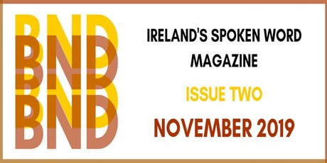 BND Magazine Issue 2 Launch tickets