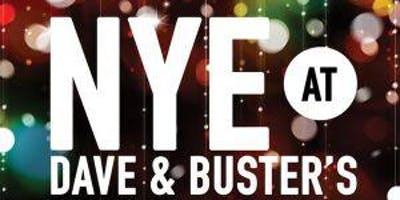 Dave and Buster's St. Louis and MOON from 105.7 THE POINT New Year's Eve ***** PARTY!!