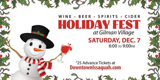 Issaquah's Holiday Fest at Gilman Village