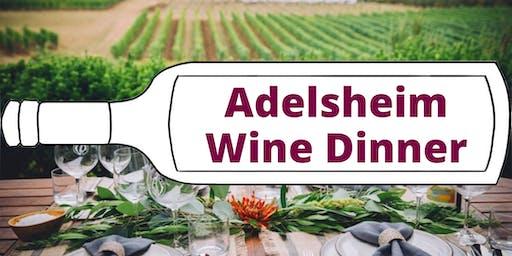 Adelsheim Wine Dinner