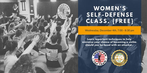 LADIES, reserve your spot! Just in time for the holidays… Join Solicitor Scarlett Wilson on December 4th for our 1st FREE Women's Self-Defense class.