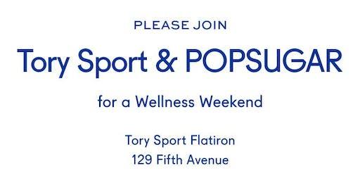 Tory Sport x POPSUGAR