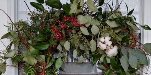 Organic Holiday Wreath Making
