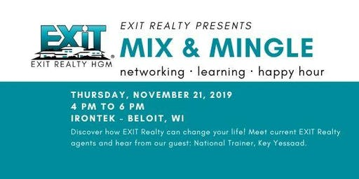 Mix & Mingle: Networking, Learning, Happy Hour