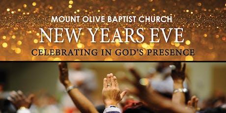 Mount Olive Baptist Church Woodbridge, VA New Year's Eve Celebration! tickets