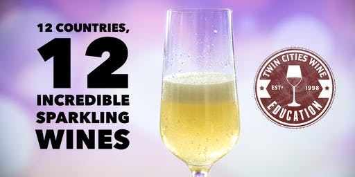 12 Countries, 12 Sparkling Wines: Sunday Series with Solo Vino