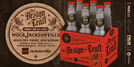 The Design of Craft: Celebrating 30 Years of AIGA Jacksonville tickets