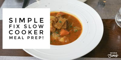 Simple Fix Slow Cooker Meal Prep!