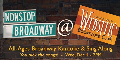 NonStop Broadway at Webster's (State College)