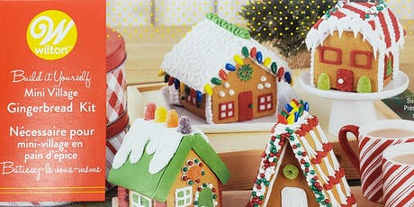 Mini Gingerbread House Decorating tickets