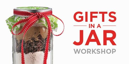 Gifts in a Jar! Kids in the Kitchen SOLD OUT