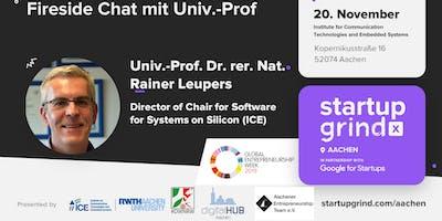 Fireside Chat mit Univ.-Prof. Dr. rer. nat. Rainer Leupers