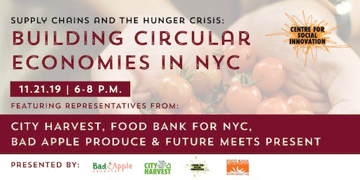 Supply Chains and the Hunger Crisis: Building Circular Economies in NYC