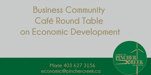 Business Community Café Round Table on Economic Development