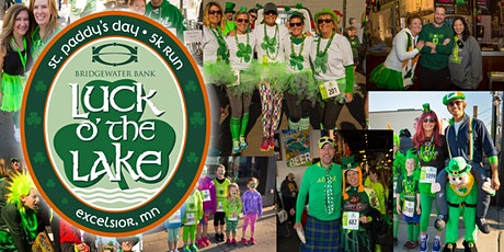 2020 Bridgewater Bank Luck o' the Lake 5K and 1 Mile Run and Tent Party tickets