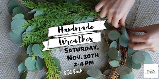 Handmade Holiday Wreath Workshop