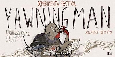 Yawning Man - Xperimenta Festival en El Emergente Almagro
