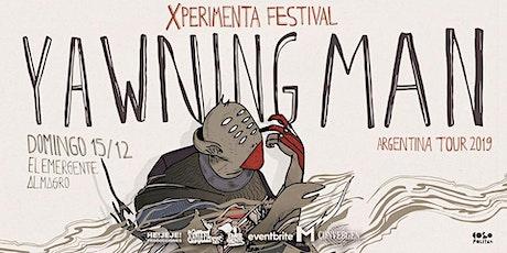 Yawning Man - Xperimenta Festival en El Emergente Almagro entradas