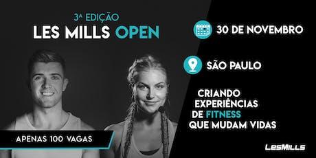 3ª EDIÇÃO - LES MILLS OPEN PARA ESTUDANTES DE ED. FÍSICA ingressos