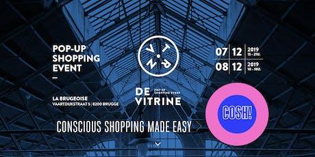 COSH! @ De Vitrine   - Eerlijke Mode Talk tickets