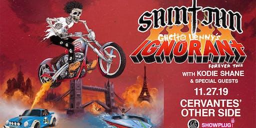 SAINt JHN – Ghetto Lenny's IGNORANt Forever Tour w/ Kodie Shane