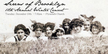Sirens of Brooklyn 11th Annual Winter Concert tickets