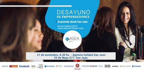 Desayuno de Emprendedores San Juan | NOVIEMBRE entradas