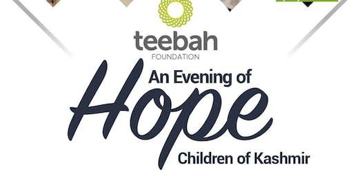 An Evening of Hope for the Children of Kashmir