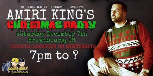 Amiri King's Christmas Party