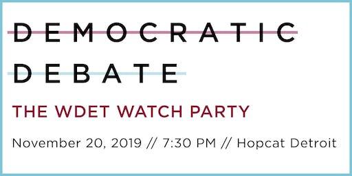 WDET Debate Watch Party