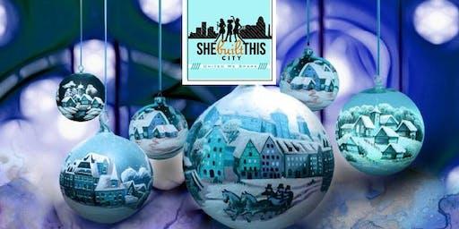 Holiday Girls Build - Create Your Own Suspension Bridge Snowy Scene!
