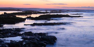 Sunset Tide Pooling