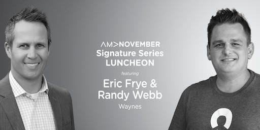 AMA Birmingham Signature Series Luncheon: November 2019