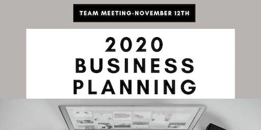Team Meeting 2020 Business Planning