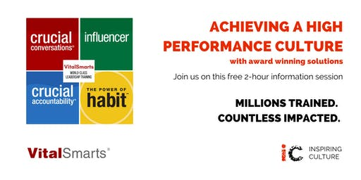 Achieving a high performance culture - award winning solutions
