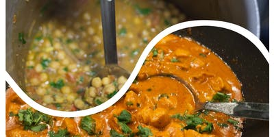 Indian Cooking Class: Chicken Tikka Masala, Chana Masala and Saffron Rice