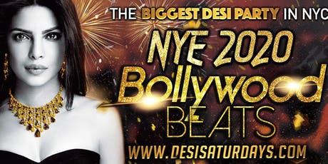 Bollywood New Years Eve Party - NYC's # 1 & Biggest DesiParty @ Stage48  tickets