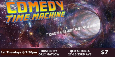 Comedy Time Machine tickets