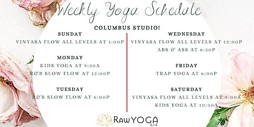 Yoga Classes at RawYoga614: Columbus Studio