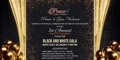 Black and White Gala Charity Ball