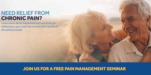 Pain Management Seminar