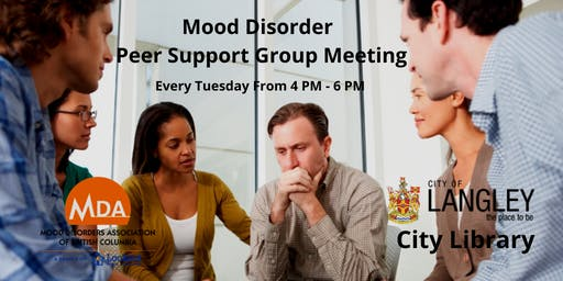 Mood Disorder Take Action Peer Support Group For Adults & Teens Langley BC