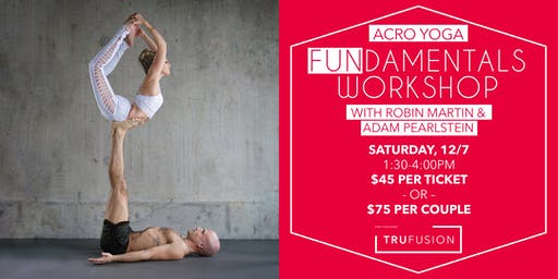 TruFusion - Acro Yoga FUNdamentals Workshop