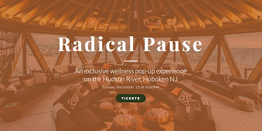 Exclusive Wellness Event: Pause, Reset, and Recharge for 2020
