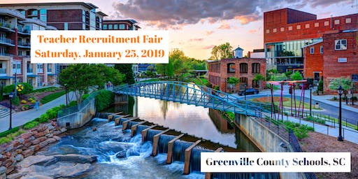 Greenville County Schools Winter Teacher Recruitment Fair