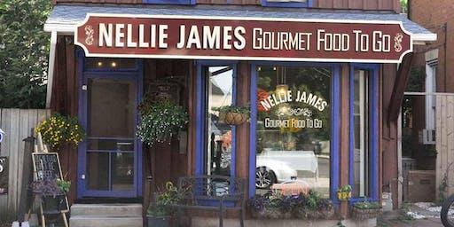 Dinner with Nellie James Round 2!
