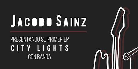 """Jacobo Sainz presenta su EP """"City Lights"""" con banda entradas"""