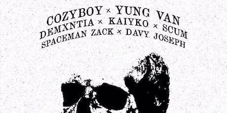Cøzybøy, Yung Van, Demxntia and more at Ruins! tickets