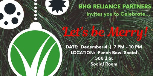 BHG Reliance Partners 2019 Holiday Party